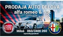 ALFA ROMEO I FIAT delovi